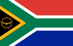 HCW map game's Flag of South Africa