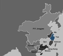 Map Yue (VegWorld)