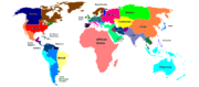 Map of the world (EC)