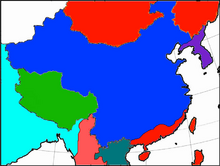 Sinica after the Great Asian War