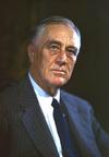 FDR 1944 Color Portrait
