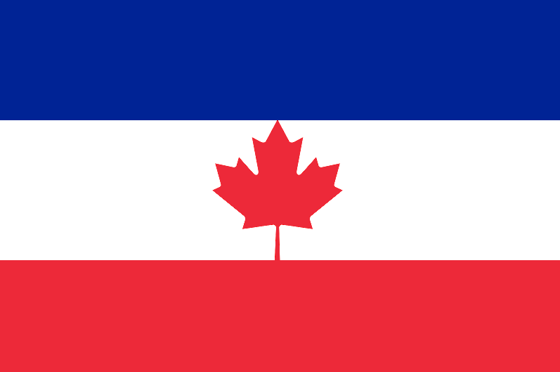 Image - Flag of French Canada .png | Alternative History | Fandom ...