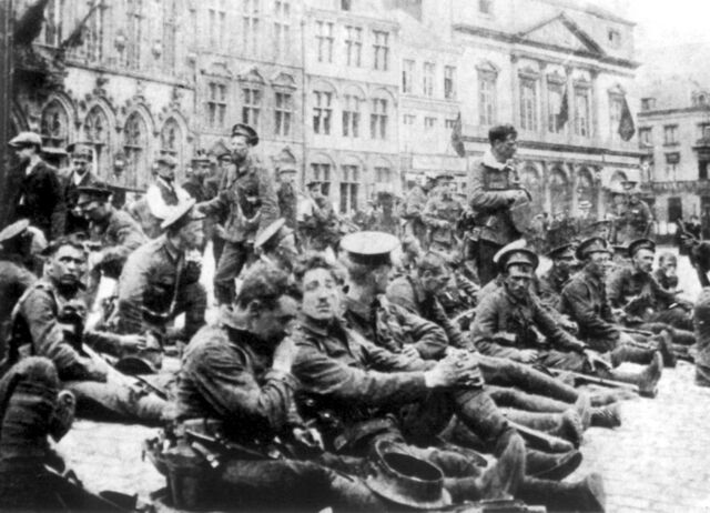 File:4th Bn Royal Fusiliers 22 August 1914.jpg