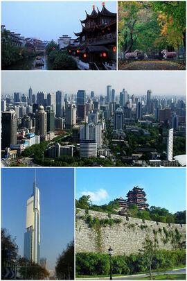 Montage of Nanjing