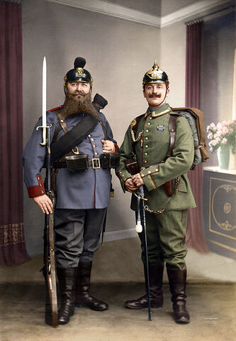 File:Bavarian and Prussian soldiers.jpg