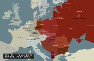 Soviet influence in europe