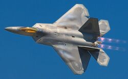 800px-Lockheed Martin F-22A Raptor JSOH
