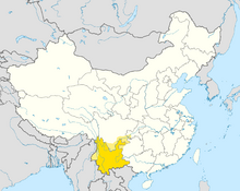 DD83-Map of Yunnan