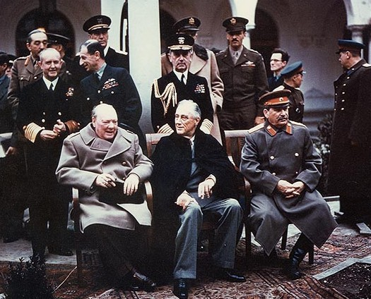 File:Yalta summit 1945 with Churchill, Roosevelt, Stalin.jpg
