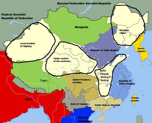 China aprox 1921