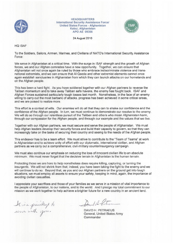 File:Letter from David Petraeus to U.S. and ISAF troops.png