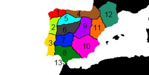 Hispanic regions 2