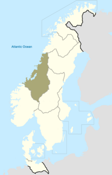 Trondelag Map