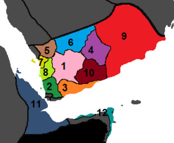 Yemen Administrative Div