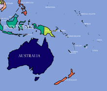 Map of Oceania (Ranjit Singh Lives)
