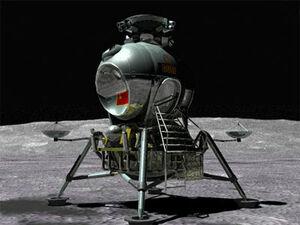 Soviet-lunar-lander