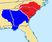 Political map of the mid-south coast