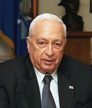Ariel Sharon Headshot