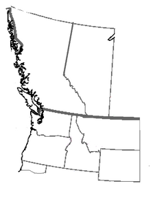 Map of the North American Federation