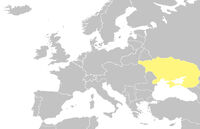 Ukraine location