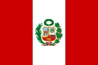 Flag of Peru 1825