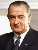 37 Lyndon Johnson 3x4-1-