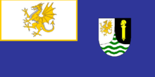 4 - Colonial Flag of Welsh Guinea