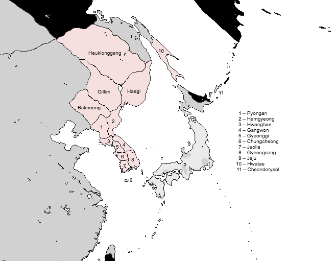 Koreaprovinces