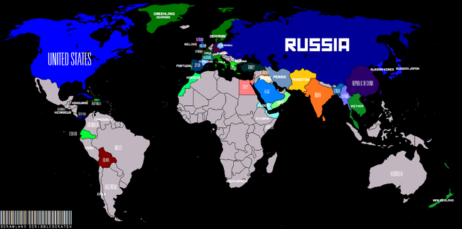 For the Motherland! Labelled Map (Map Contest)