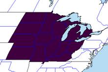 Location of Indiana (Heartfelt Fancy)