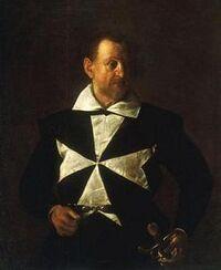 Caravaggio - Portrait of a Knight of Malta