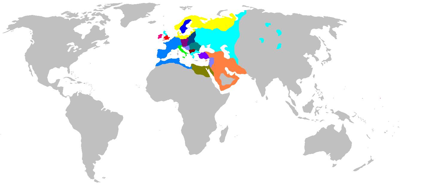Europe 1100 Map Game 3