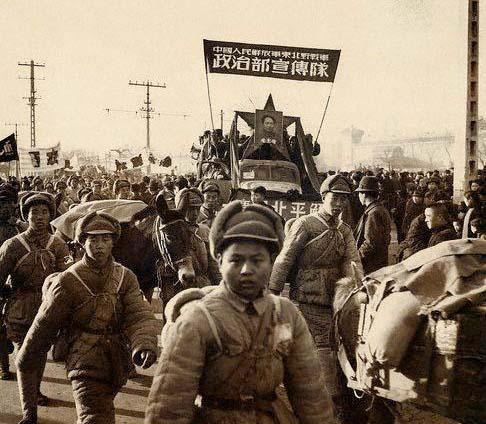 File:Communists enter Beijing (1949).jpg