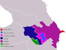 ArmeniaNakhchivanazerbaijanmap
