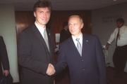 Stoltenberg with Putin 2000
