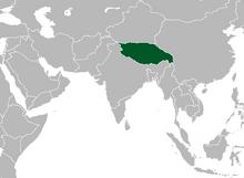 Location of Tibet (Myomi)