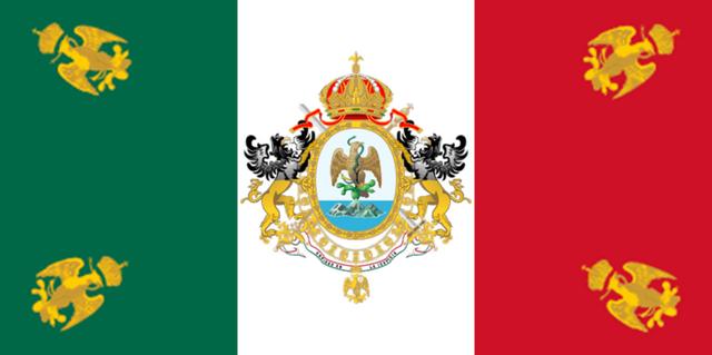 File:800px-Bandera del II Imperio Mexicano.png