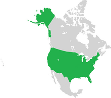 United States in North America