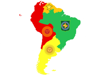 South America in 1870