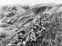 Aust soldiers Finisterres