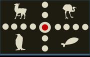 Selk'nam flag