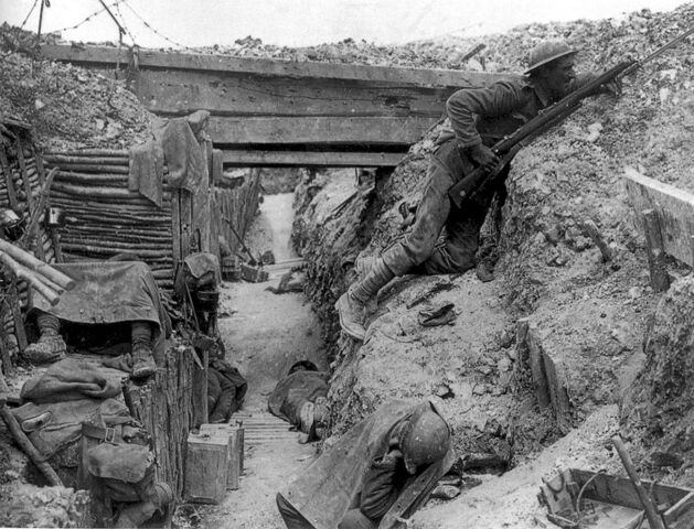 File:Cheshire Regiment trench Somme 1916.jpg