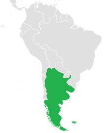 Argentina in South America