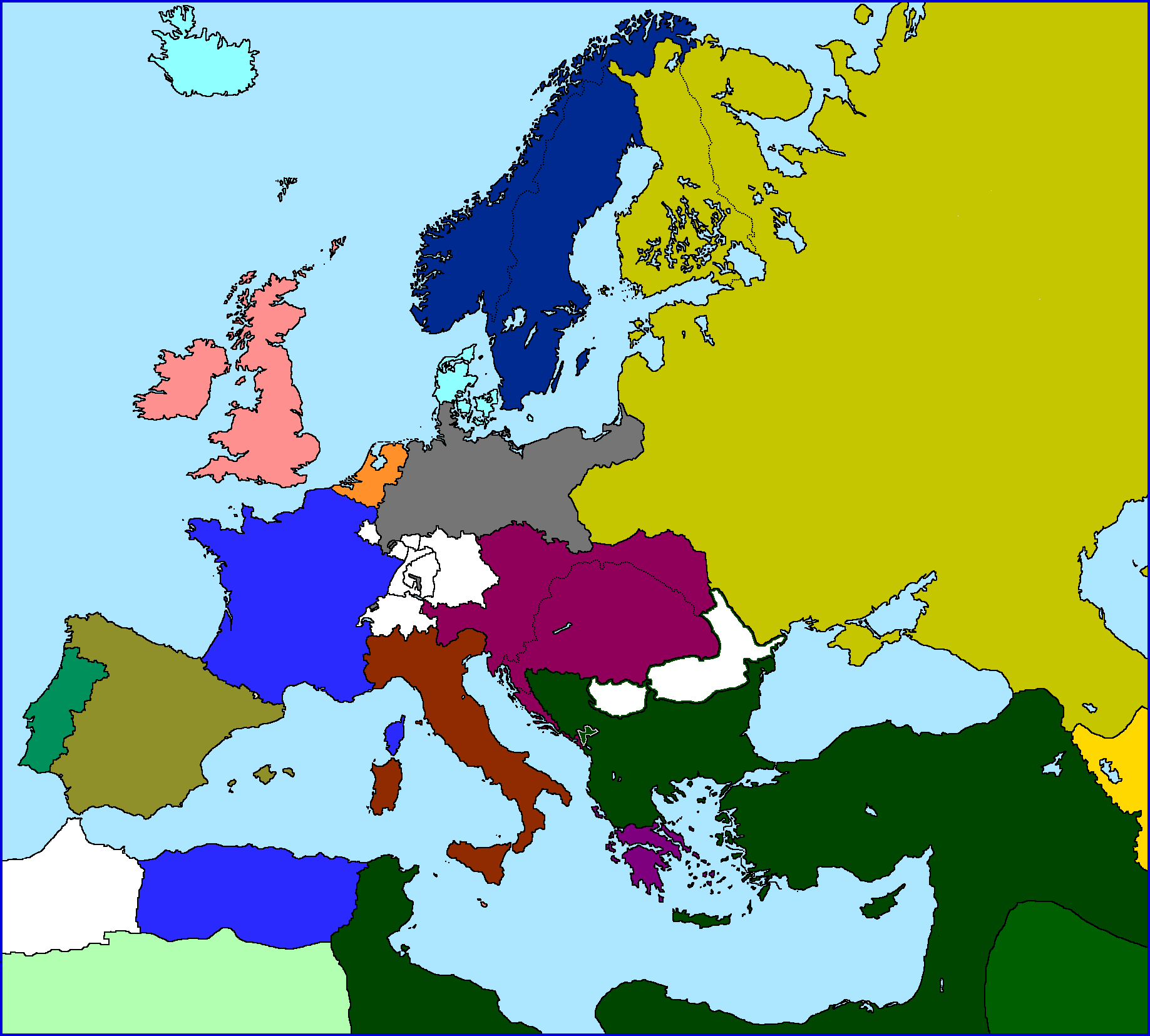 1800 1900 europe History of europe - revolution and the growth of industrial society, 1789–1914: developments in 19th-century europe are bounded by two great events the french revolution broke out in 1789, and its effects reverberated throughout much of europe.
