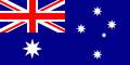 Flag of Australia with 8-pointed stars