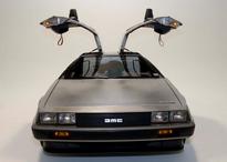 DeLorean, doors open