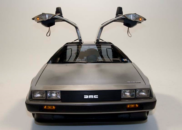 File:DeLorean, doors open.png