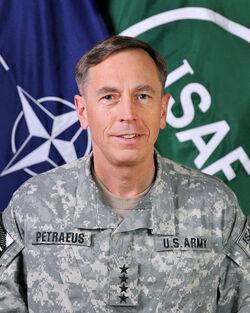 Gen. David Petraeus ISAF