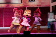 The Chipettes Live!