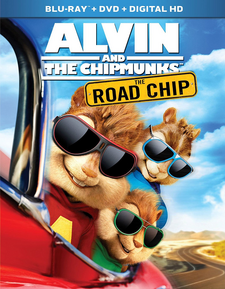 The Road Chip Blu-Ray DVD Cover 2016